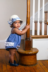 Emily (lricks20) Tags: baby emily dominican guitar babygirl dominicana morenita 8monthsold sigma2470f28 canon7d guitarandbaby norman2400d