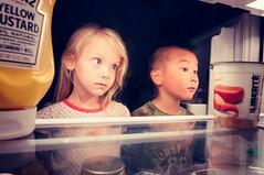 Midnight Snack (Jason _Ogden) Tags: door food kids nikon open refridgerator snack midnight mustard hungry heinz midnightsnack d90 vr18mm200mm flickfriday kidsarealwayshungry sneakingoutofbed
