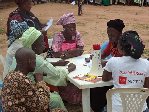 AHF Nigeria: Knockout HIV Testing Event