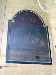 Royal Arms, Todenham (Aidan McRae Thomson) Tags: church painting gloucestershire royalarms todenham