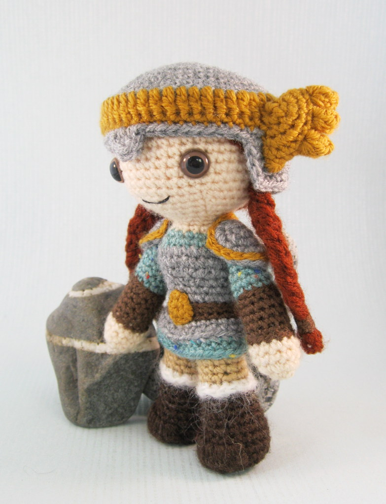 Amigurumi Viking Pattern : The Worlds Best Photos of crochet and dwarf - Flickr Hive ...