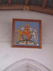 Royal Arms of Elizabeth II, Nuneaton (Aidan McRae Thomson) Tags: church modern warwickshire nuneaton royalarms