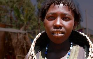 Femme Hamer Omo Valley Ethiopie