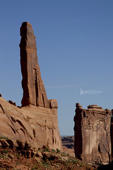 Arches National Park (Karen Juliano) Tags: summer sky rock stone utah nationalpark arches formation valley moab