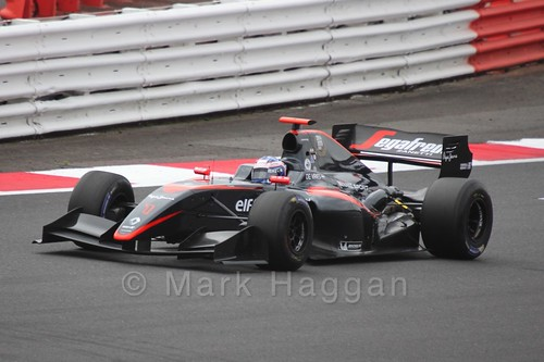 Nyck De Vries in Saturday's WSR 3.5 Race at Silverstone