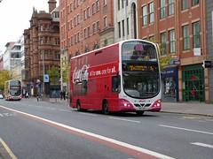 2213 Belfast 19/09/15 (Csalem's Lot) Tags: bus metro belfast cocacola howardstreet aoa 2213 wrightsgemini