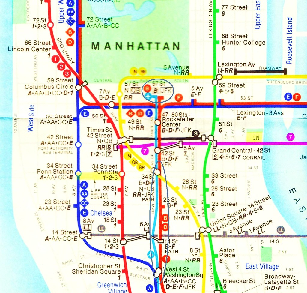 New York City Subway Map 1979.The World S Best Photos Of Bronx And Tunnel Flickr Hive Mind