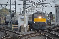 087 arrives at Connolly, 28/9/15 (hurricanemk1c) Tags: dublin irish train gm rail railway trains railways irishrail generalmotors 2015 emd connolly 087 071 ety iarnród éireann iarnródéireann 1010inchicoreconnolly