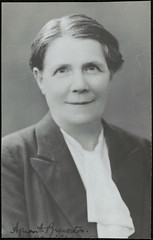 Headmistress at Hornsby Girls High, 1931-1937 (State Records NSW) Tags: blackandwhite women archives newsouthwales schools hornsby principal syndey headmistress staterecordsnsw