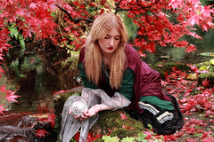 What does the future hold (PARMAR2009) Tags: autumn red woman lake colour green english ford gabriel water beautiful leaves lady canon john garden costume movement dante william lizzie blond 7d blonde romantic madox brotherhood society graceful painters everett hunt millais bold waterhouse ophelia preraphaelite rossetti holman browm influence romanticism siddall viberant preraphaelitism