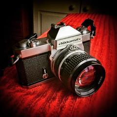 #nikkormat #ft2 #camera #nikon #solid #oldschool #1975 #vintage #35mm #film (nevardmedia) Tags: square squareformat ludwig iphoneography instagramapp uploaded:by=instagram