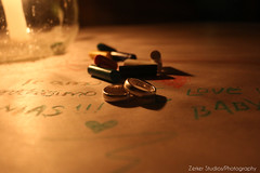 J & D (Zerker Studios/Photography) Tags: love ring crayons vela anillo crayolas