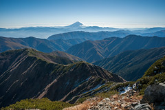 One Mountain to Rule Them All (deletio) Tags: light snow mountains japan clouds landscape 富士山 mtfuji yamanashi 2015 yamanashiken akaishi d700 nikkornc24mmf28 minamialpsshi