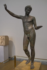 The National Archaeological Museum (Martin Beek) Tags: sculpture art europe body athens greece figure artandculture