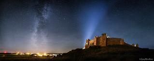 Bamburgh Stars - Milky Way, Bamburgh, Northumberland