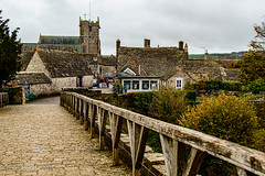 Corfe Castle Village (JChipchase) Tags: uk england architecture countryside village dorset corfecastle