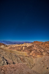 Stars over Death Valley (Russmosis) Tags: california nature night stars landscape desert clear deathvalley geology zabriskiepoint