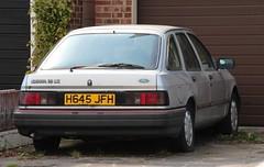 H645 JFH (Nivek.Old.Gold) Tags: ford sierra lancaster 1991 colchester 18lx