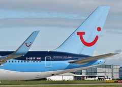 G-OBYF (AnDrEwMHoLdEn) Tags: manchester airport thomson 767 manchesterairport egcc 23l