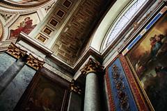 (noemi.m) Tags: church architecture painting interior basilica pillar esztergom
