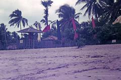 Palm Beach (Qld) SLSC instructional tour to Bali - Waja SLSC clubhouse, Kuta Beach, Bali, Indonesia, September 1977 - Photo by John McPherson 11-14-2015_88a (john.robert_mcpherson) Tags: life bali beach club surf palm qld saving 1977 clubhouse waja