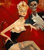 Domergue, Jean Gabriel  (1889-1962) (STORMZORN) Tags: maiden madchen mortsqueletteskeletonfemmedame fillejeunewomannakedmementomorinuenude erosthanatosdansemacabrecadavercadavreznortcraneskull muertechica todtott tanzdellamorte