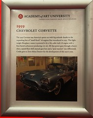 1959 Chevrolet Corvette Convertible '585T' Info (Jack Snell - Thanks for over 26 Million Views) Tags: sf auto show ca 58th wallpaper art cars chevrolet wall vintage paper san francisco display convertible center international collectible moscone corvette 1959 excotic jacksnell707 jacksnell 585t accadomy
