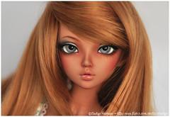 MNF Tan Chloe for Koffka Bu1 (Eludys) Tags: ball doll skin tan makeup chloe bjd fairyland tanned jointed mnf faceup minifee eludys