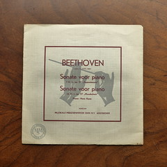 "Beethoven- Piano Sonata op.57 "" Appassionata "" & op.27 ""Mondschein Moonlight"" - Hans Kann Piano, MMS-44, 10 inch (Piano Piano!) Tags: art notes vinyl cover lp record disc sleeve hoes gramophone liner vynil disque schallplatte plaat 10inch hulle grammofoon beethovenpianosonataop57appassionataop27mondscheinmoonlighthanskannpiano mms44"