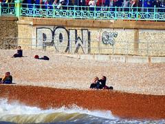POW! Brighton Seafront (photphobia) Tags: brighton eastsussex southeastengland southeast coast holiday beach sea seaside seafront oldtown oldwivestale outdoor outside graffiti pow