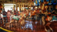 And the Goat Goes 'Round and 'Round (Flickr Goot) Tags: october 2016 samsung galaxy s6 mansfield ohio richland county carousel goat carrousel