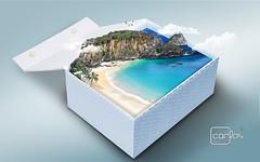 Atelier2 - A caixa (Carlos Atelier2) Tags: atelier2 carlos caixa papel fernandodenoronha mar natureza aoarlivre montanhas coqueiro