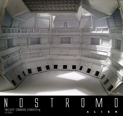 NOSTROMO-MOTHER-CHAMBER-38 (sith_fire30) Tags: alien aliens weyland yutani company nostromo muthur mother computer diorama styrene chamber custom action figure sculpture sithfire30 dayton allen ridley scott prometheus isolation sega