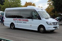 Roy's, Finedon RE63 FCV, Mercedes Sprinter in Cheltenham (majorcatransport) Tags: northamptonshirebuses roysfindeon mercedesbenz mercedessprinter cheltenham evm