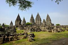 Under the shade in Prambanan (A. Wee) Tags: yogyakarta prambanan indonesia  unesco world heritage