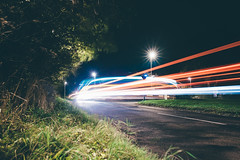 Exposure // (burnmatthewww) Tags: canon canon6d 6d sigma 35mm longexposure exposure england northumberland newcastle greenside street city night trails cars