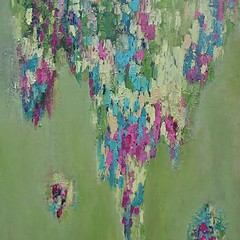 Flower Shower (Angela Dierks Paintings) Tags: abstractart abstractpainting oilpainting affordableart floralart