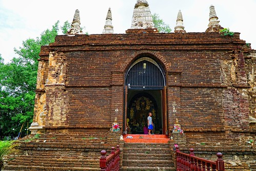 Wat Ched Yot (Jed Yod) Temple, Chiang Mai, Thailand
