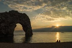 Durdle Door (hutchyp) Tags: durdle door dorset jurassic coast sun set sunset starburst