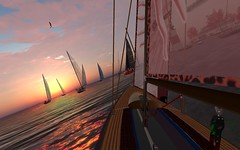 FJ2016 @ NYC - and... GO GO GO !!! (vivipezz) Tags: secondlife sailing sl nyc nantucket shields q2m bandit if