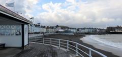63 | Aberystwyth (Mark & Naomi Iliff) Tags: aberystwyth sea clouds