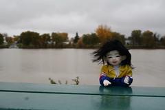 IMG_5131 (Jaenea) Tags: harucasting adori rylad bjd yosd legitbjd river outside rain