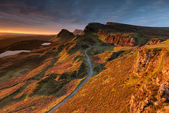 Waiting Gold (David Ball Landscape Photography) Tags: scotland isleofskye quiraing sunrise travel adventure visitscotland canon clouds sky storm landscape landscapephotography leefilters light photography outdoors uk 2016 nature thequiraing