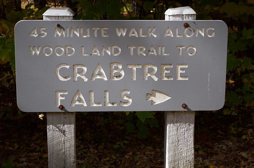 Blue Ridge Parkway 176 - Crabtree Falls
