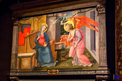"Filippo Lippi, Annunciation • <a style=""font-size:0.8em;"" href=""http://www.flickr.com/photos/89679026@N00/30536632644/"" target=""_blank"">View on Flickr</a>"