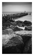 2016 10 28 1626 42 0 T 1 (Paul M Bates) Tags: rocks groins groynes groin groyne beach sea lowestoft