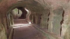 DSCF0074 glise monolithe d'Aubeterre-sur-Dronne (Charente) (Thomas The Baguette) Tags: aubeterresurdronne charente france monolith cave church tympanum glise glisenotredame saintjacques caminodesantiago sexyguy chateau cloister minimes mithra mithras cult