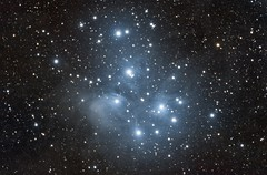 M45 - The Pleiades (Andrew Klinger) Tags: