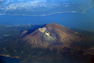 Mt. Ontake and Sakurajima Volcano, Japan