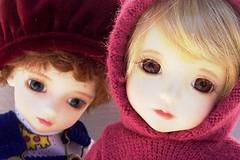 Winter (whisperwolf16915) Tags: customhouse petiteai bjd doll gabriel petiteaigabriel uriel petiteaiuriel